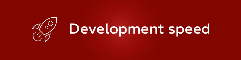 Ruby on Rails Development speed