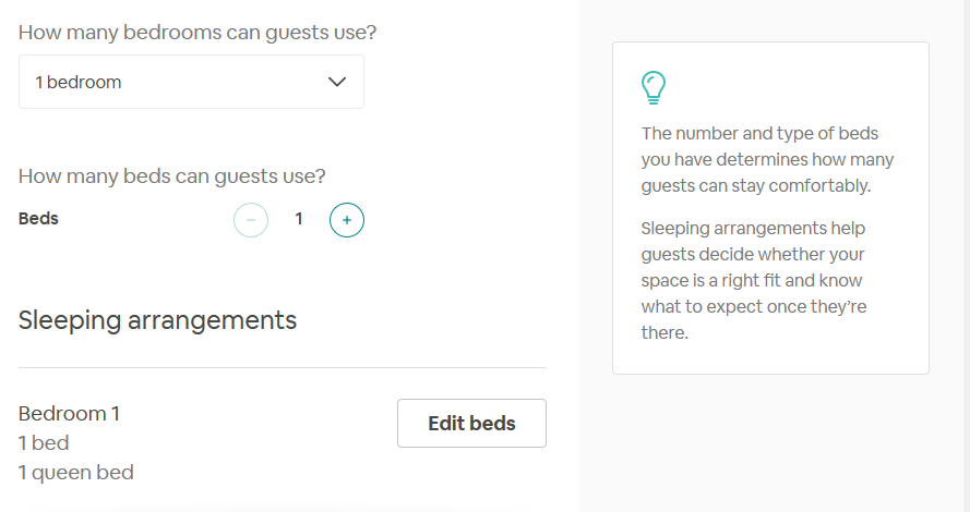 airbnb sample choice