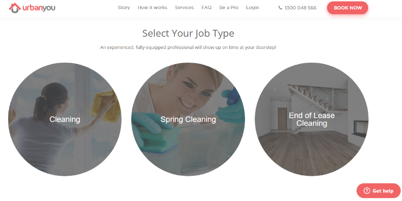How to build a cleaning marketplace: cleaning categories