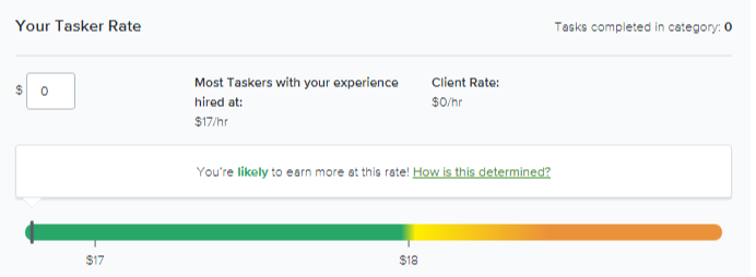 How to build a cleaning marketplace: taskers rate