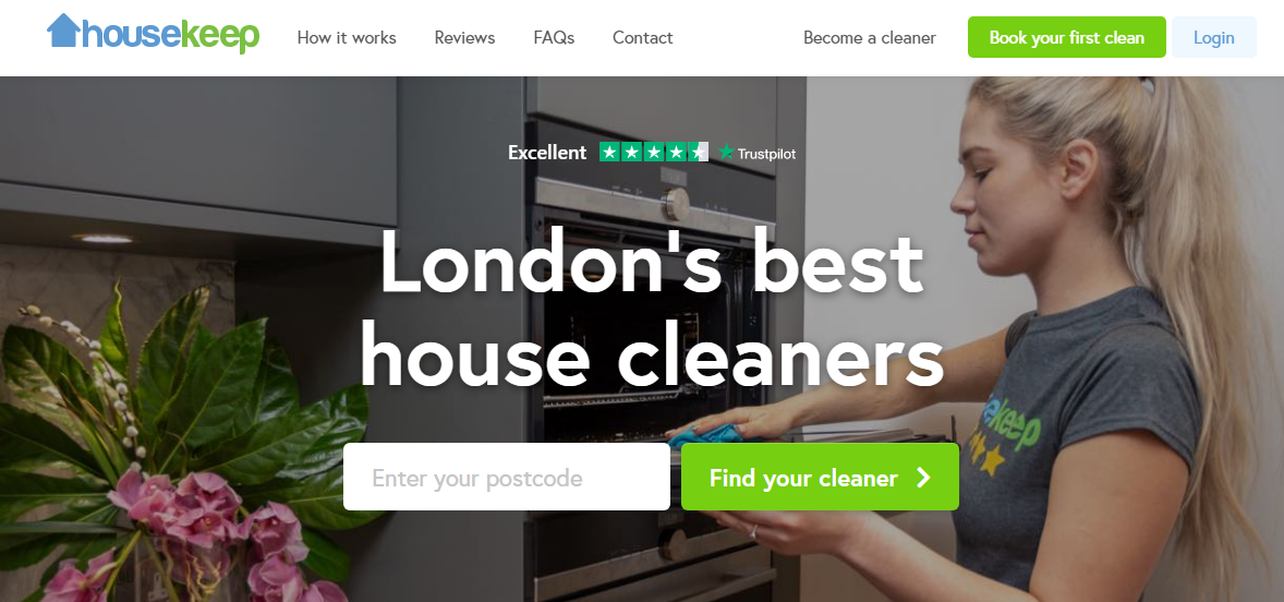 How to build a cleaning marketplace: search