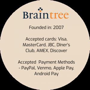 Best Online Payment Provider: Braintree