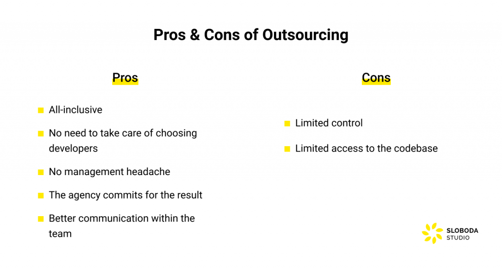 offshore development models: pros and cons of outsourcing