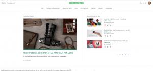 Crowdfunding platform: Kickstarter Welcome Page