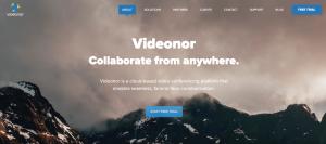 VideoNor home page