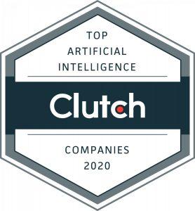 Clutch badge for Sloboda Studio as a top AI company