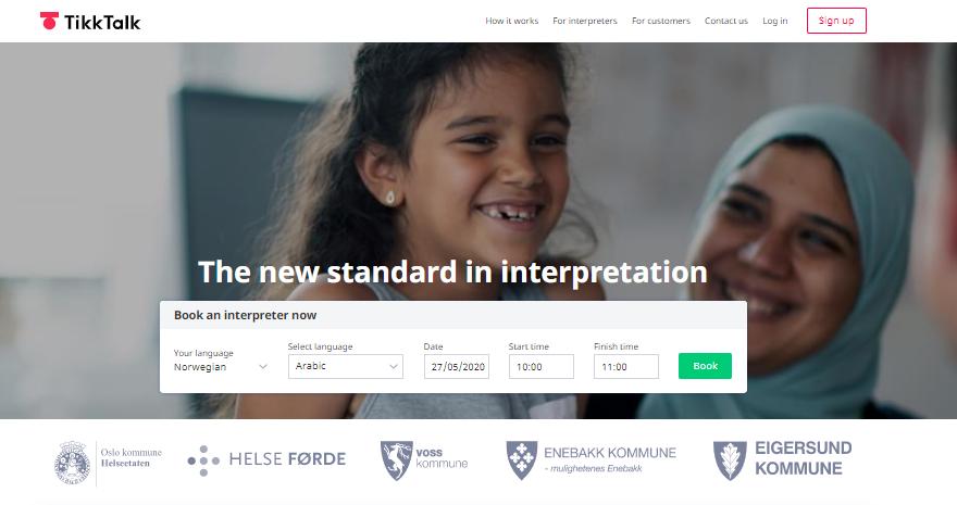 TikkTalk, a B2C platform