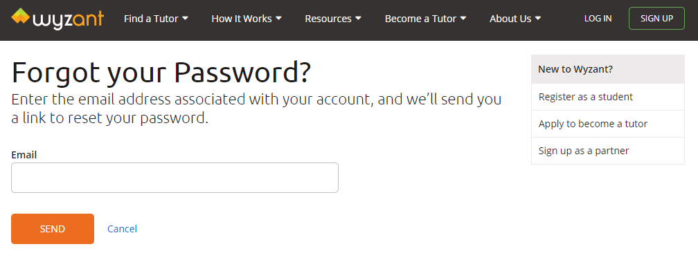 10 Core Features for Every Online Learning Platform - password recovery