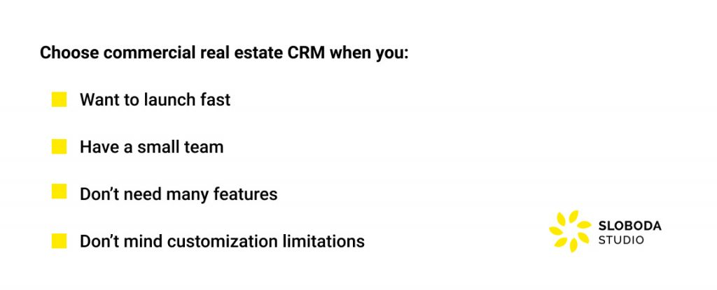Commercial Real Estate CRM