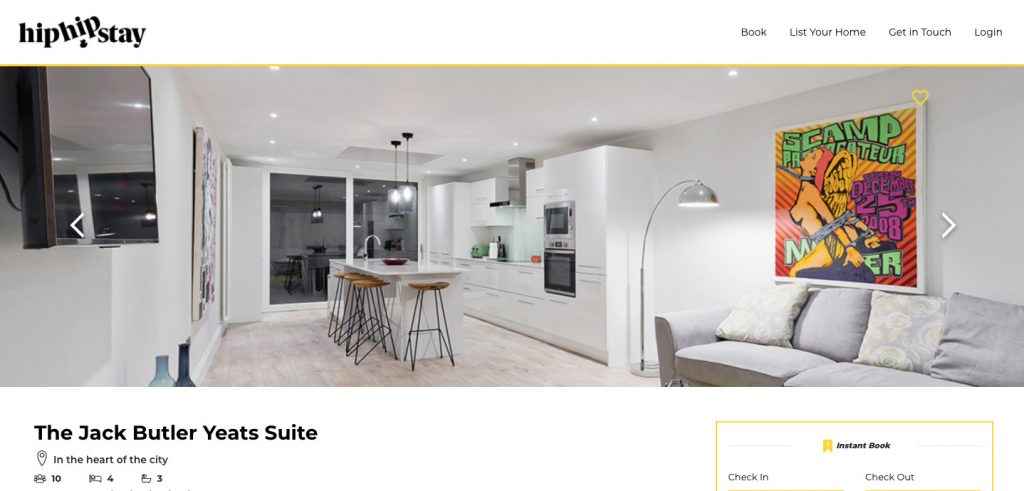 HipHipStay is an apartment rental booking marketplace