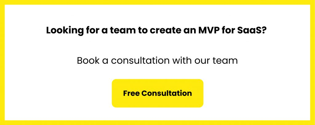 create mvp for saas startup