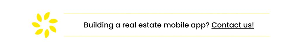 Real estate mobile app development