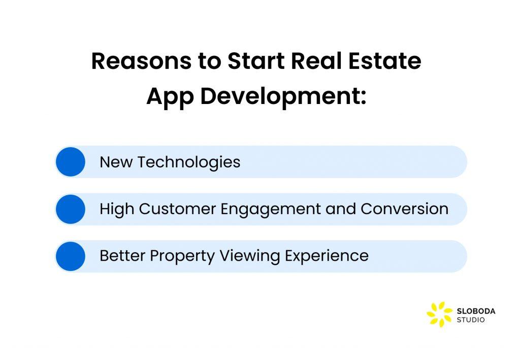 Real estate mobile app development reasons