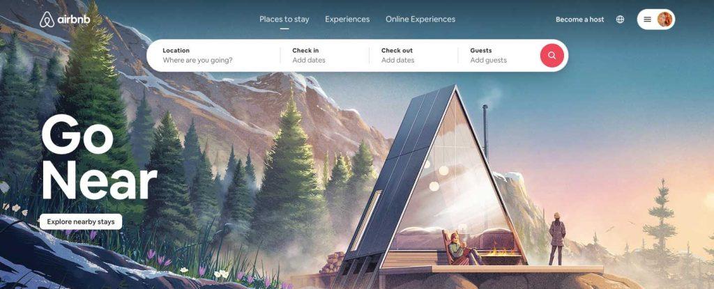 rental marketplace: airbnb