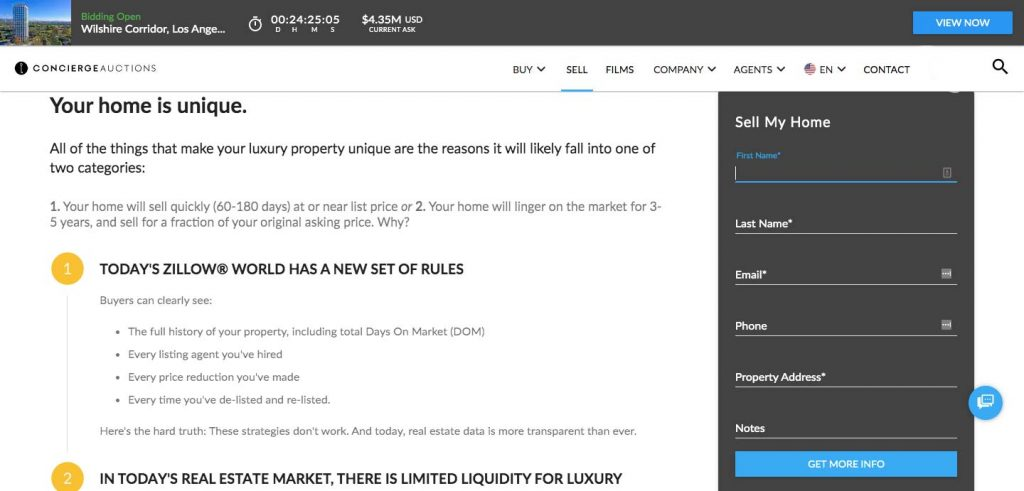 How to Build an Auction Platform for Real Estate: add property