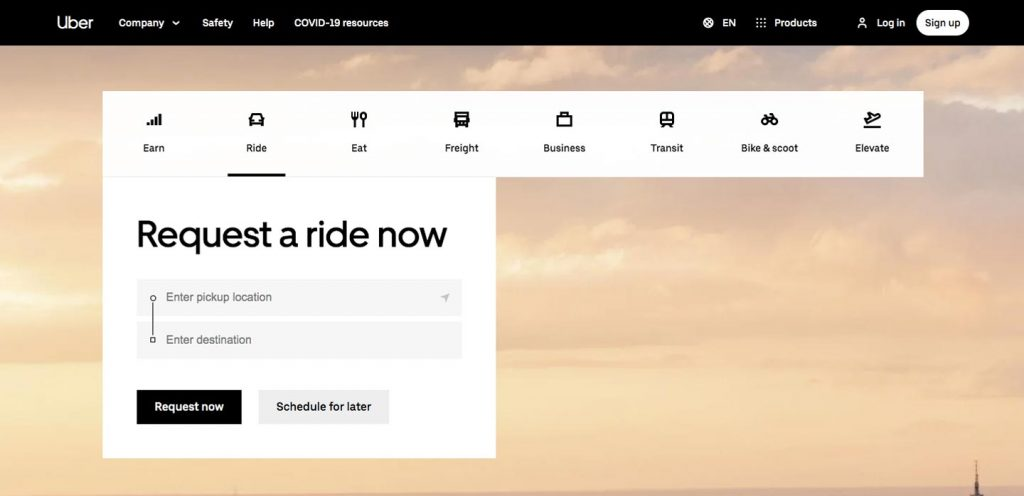 How to Create a Ride Sharing App: Uber