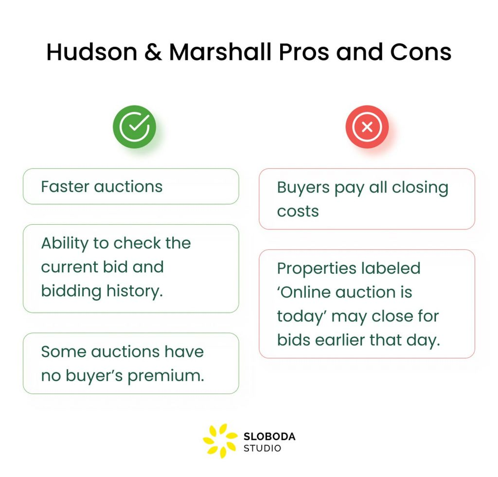 hudson & marshall pros and cons