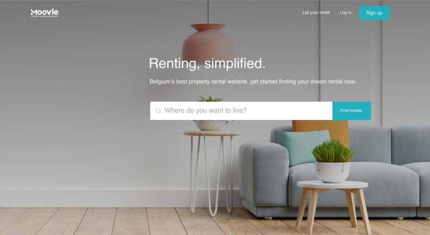 moovle: airbnb-like startup