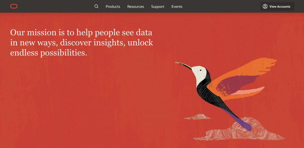 oracle corporation homepage