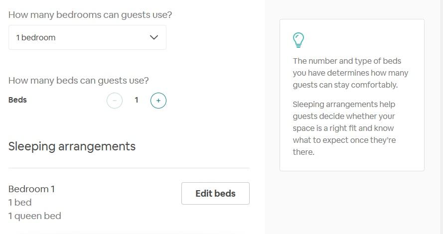 airbnb sample choice