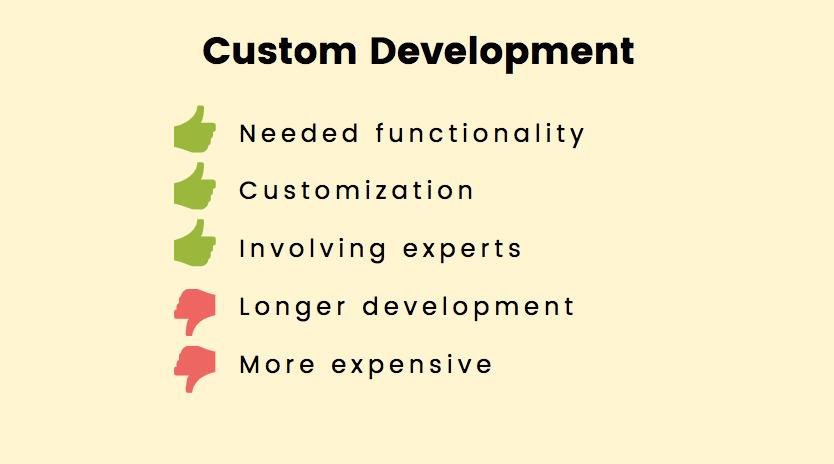 How to Choose a Marketplace Development Platform: custom development