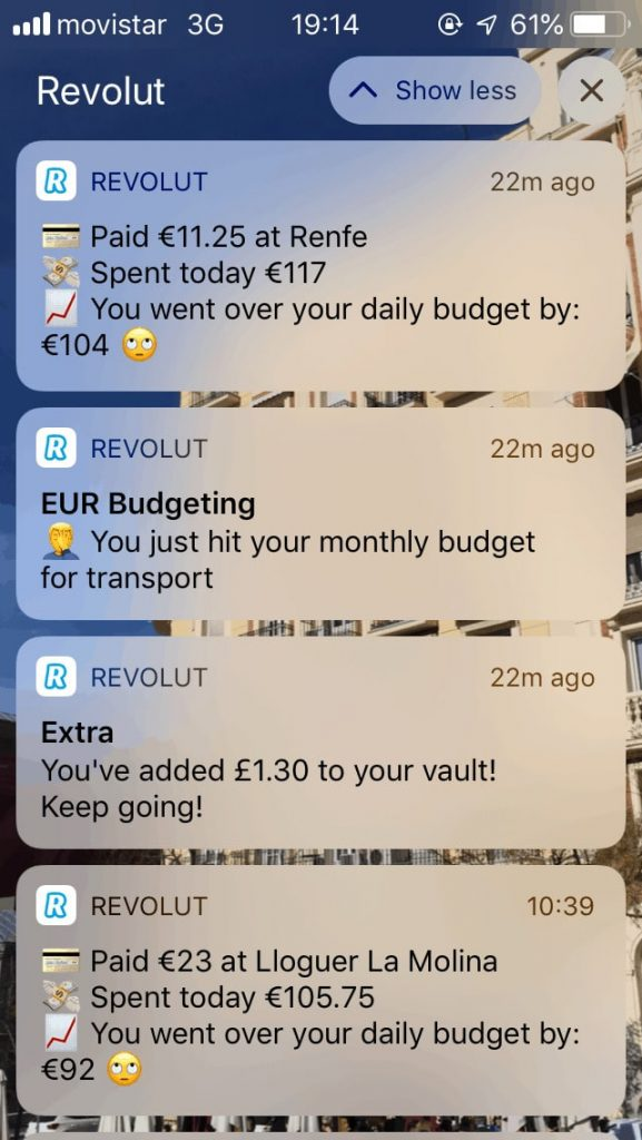 how to build app like revolut: notifications and alerts