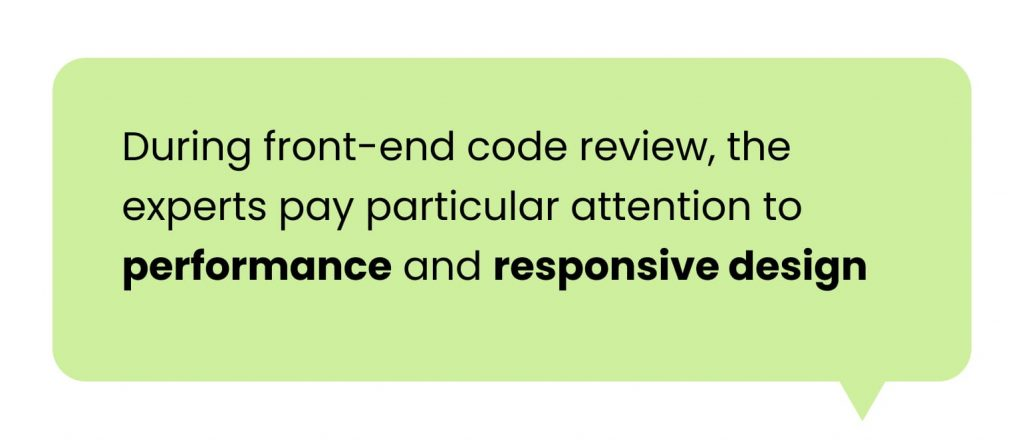 Software Code Audit: front-end review