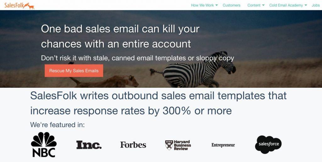 Business Model Canvas for Online Marketplace: SalesFolk