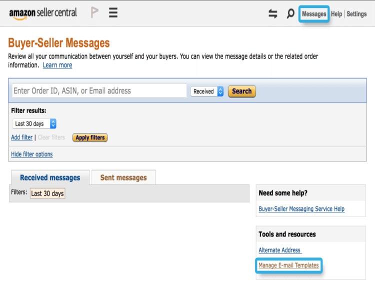 make an ecommerce website like amazon: messaging