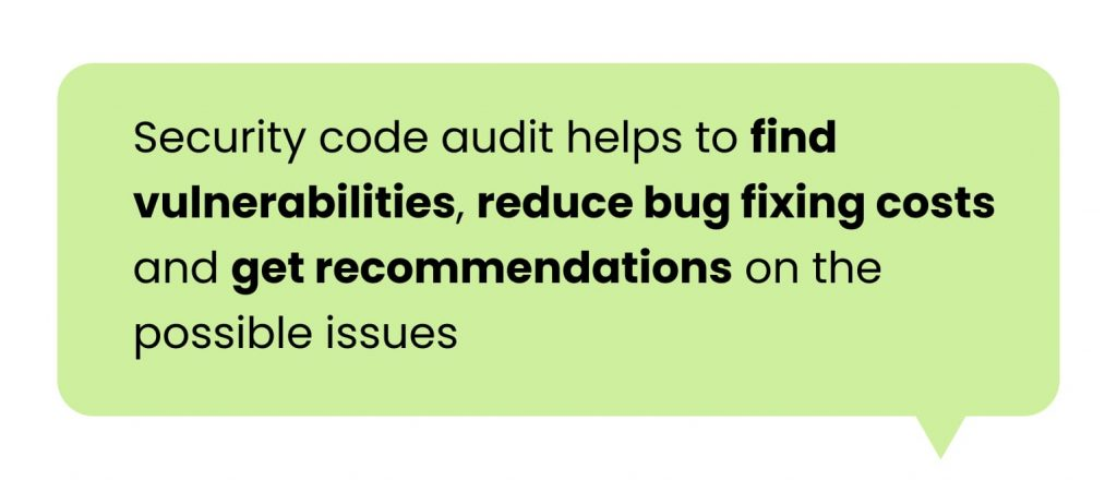 Software Code Audit: security
