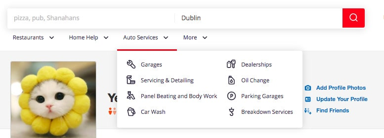 create a review app like Yelp: filters