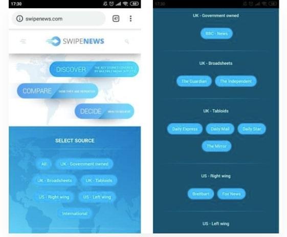 How to Create a News Aggregator Website: SwipeNews