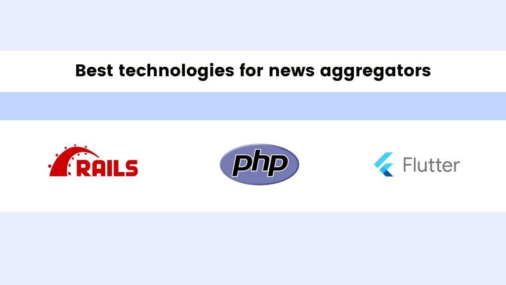 How to Create a News Aggregator Website: technologies