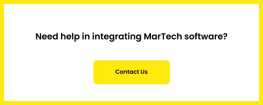 need help in integrating digital marketing software?